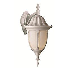 Bel Air Lighting Hamilton lanterne murale blanc à 1 lumière