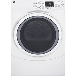 7.5 cu.ft capacity frontload electric dryer - white - ENERGY STAR®