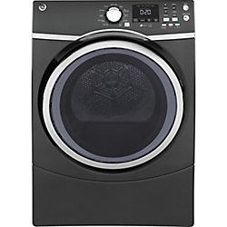GE 7.5 cu.ft capacity frontload electric dryer - diamond grey - ENERGY STAR®