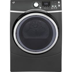 GE 7.5 cu.ft capacity frontload electric dryer - diamond grey - ENERGY STAR®