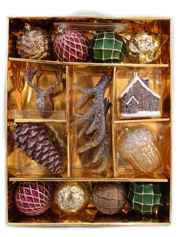 Assorted Indoor Ornaments (14-Count)