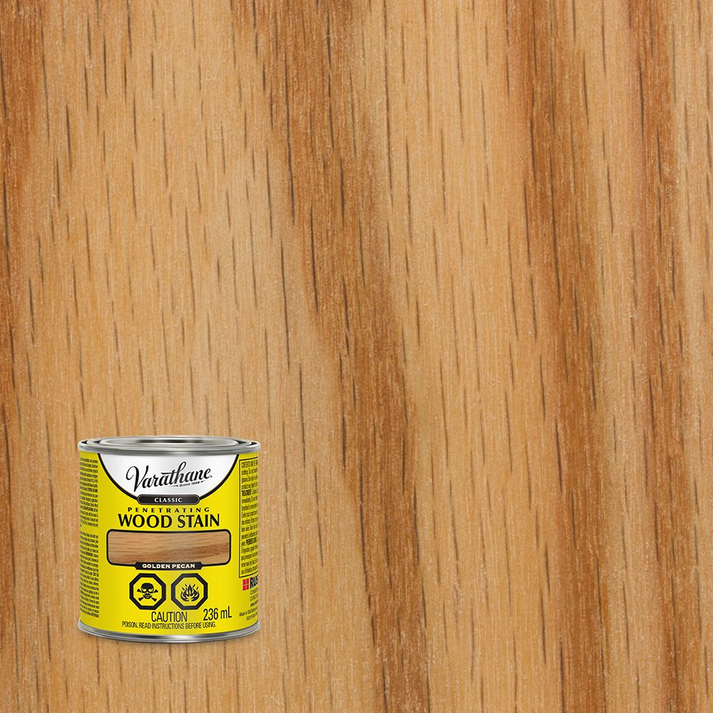 Varathane Varathane Classic Penetrating Wood Stain Golden Pecan 236ml