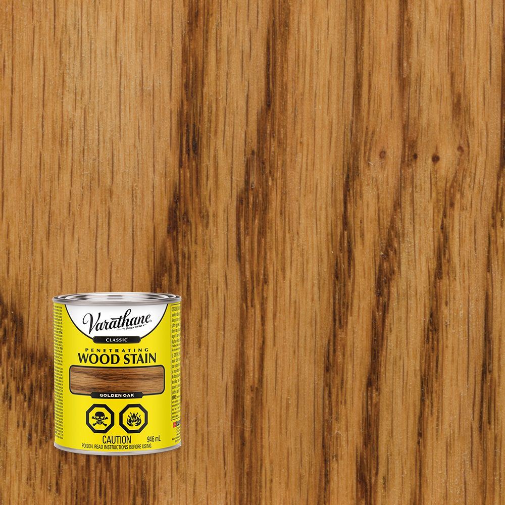 Varathane Classic 946mL Golden Oak Penetrating Wood Stain