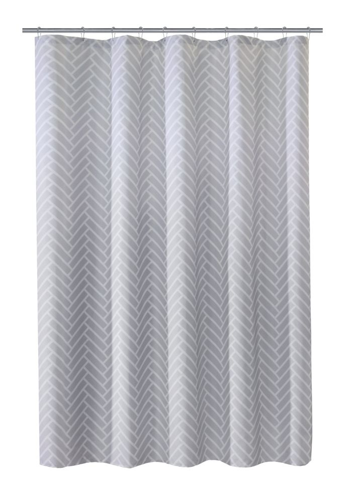 Couture Tiles Fabric Shower Curtain 70 Inch X 72