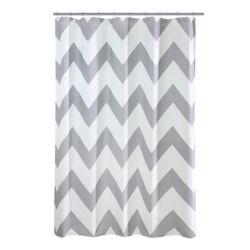 Chevron Fabric Shower Curtain 70 Inch X 72