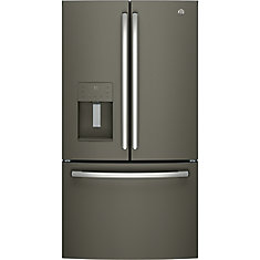 36-inch 25.5 cu. ft. French Door Refrigerator in Slate - ENERGY STAR®