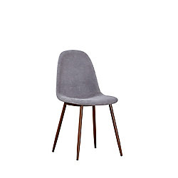 SIT Elm Side Dining Chair in Grey (Set of 2)