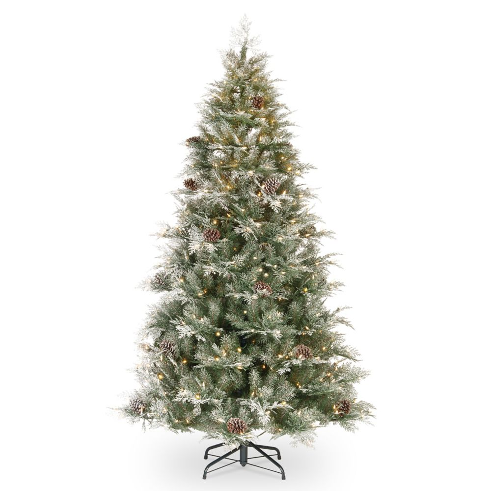 7.5 ft. Frosted Mountain Spruce Christmas Tree