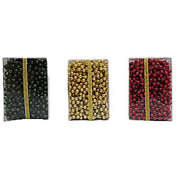 Home Accents Holiday 48 ft. Garland Beads (Assorted Colours)