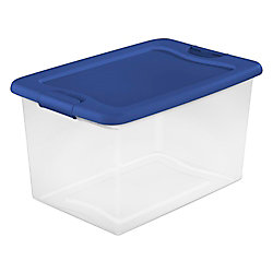 Sterilite 60L Latching Storage Box
