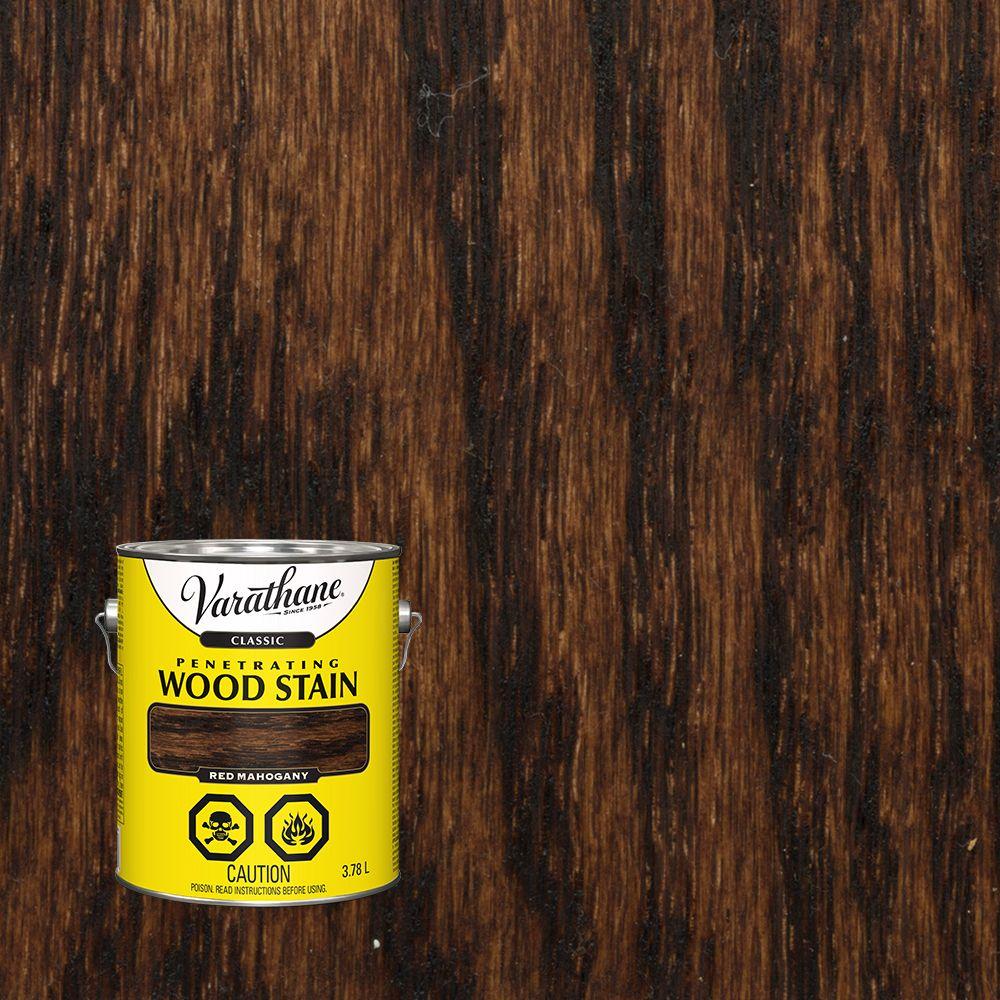 Varathane Classic Penetrating Wood Stain Red Mahogany 3.78L