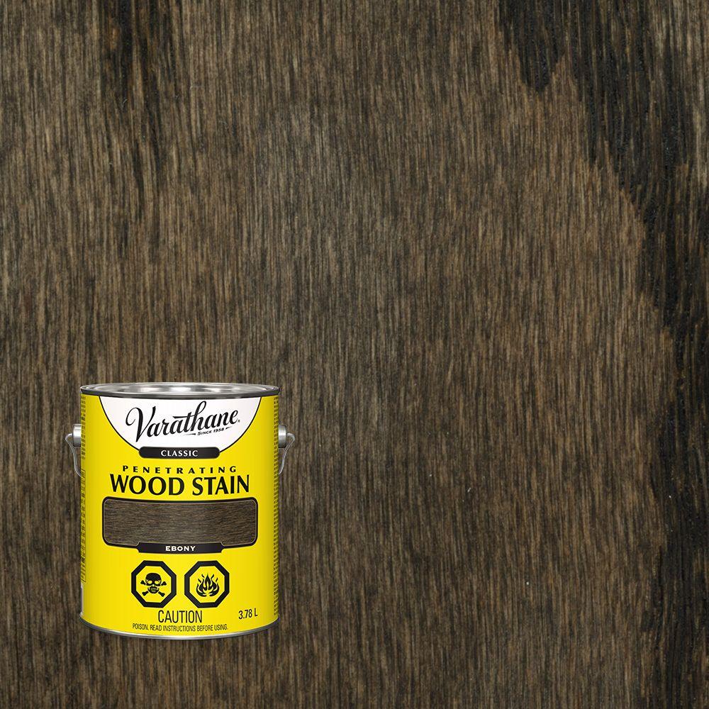Varathane Varathane Classic Penetrating Wood Stain Ebony 3.78L