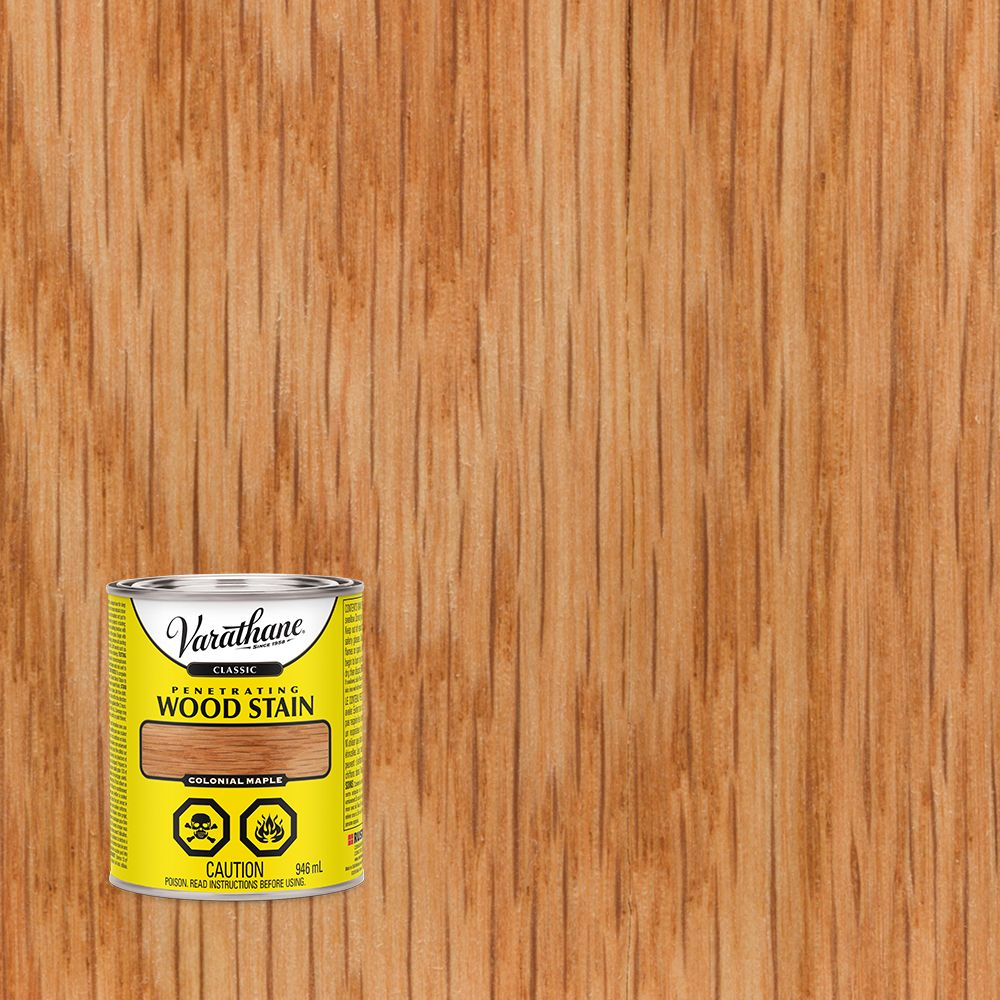 Varathane Varathane Classic Penetrating Wood Stain Colonial Maple 946ml