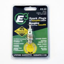 E3 Spark Plug 14F - Life Time Warranty