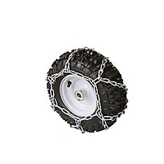 Tire Chains - Zig Zag - 13-inch X 5.00-inch - 4-Link Spacing