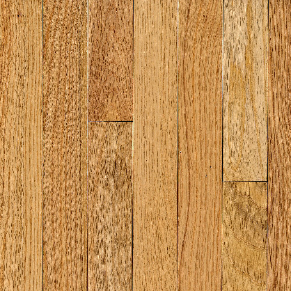 AO Oak Natural 3/4-inch Thick x 2 1/4-inch W Hardwood Flooring (20 sq  ft   / case)