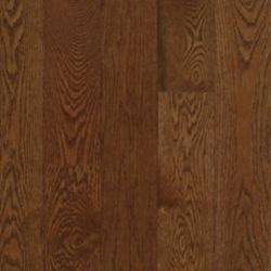 Bruce Plancher AO, bois massif, 3/4 po x 2 1/4 po x longueurs variées, Chêne Deep Russet, 20 pi2/boîte