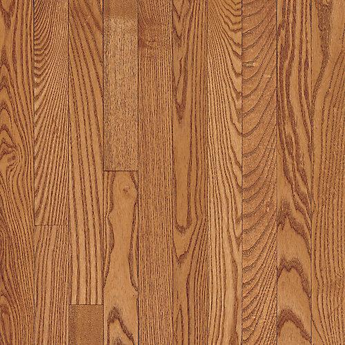AO Oak Copper Light 3/4-inch Thick x 2 1/4-inch W Hardwood Flooring (20 sq. ft. / case)