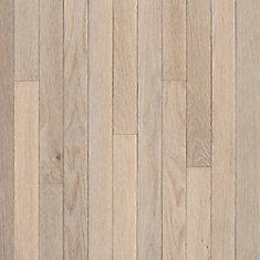 AO Oak Sugar White 3/4-inch Thick x 3 1/4-inch W Hardwood Flooring (22 sq. ft. / case)