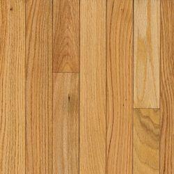 Bruce Plancher AO, bois massif, 3/4 po x 5 po x longueurs variées, Chêne naturel, 23,5 pi2/boîte