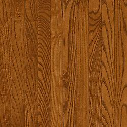Bruce Plancher AO, bois d'ingénierie, 3/8 po x 3 po, Chêne cuivre foncé, 22 pi2/boîte