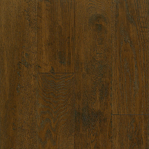 Oak Mocha 3/8-inch Thick x 5-inch W AV Hand-scraped Hardwood Flooring (23.5 sq. ft. / case)