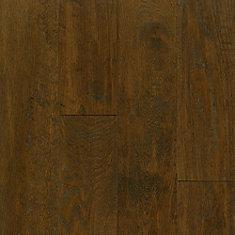 Oak Mocha 3/8-inch Thick x 5-inch W AV Hand-scraped Hardwood Flooring (23.5 sq. ft. / case)