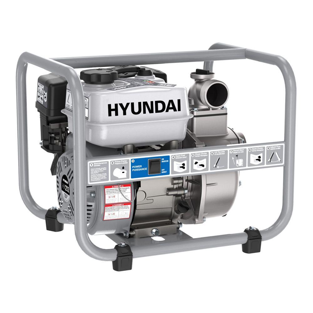 Hyundai Hyundai HWP270 2 in Gas Powered 7 HP 212cc Water Pump