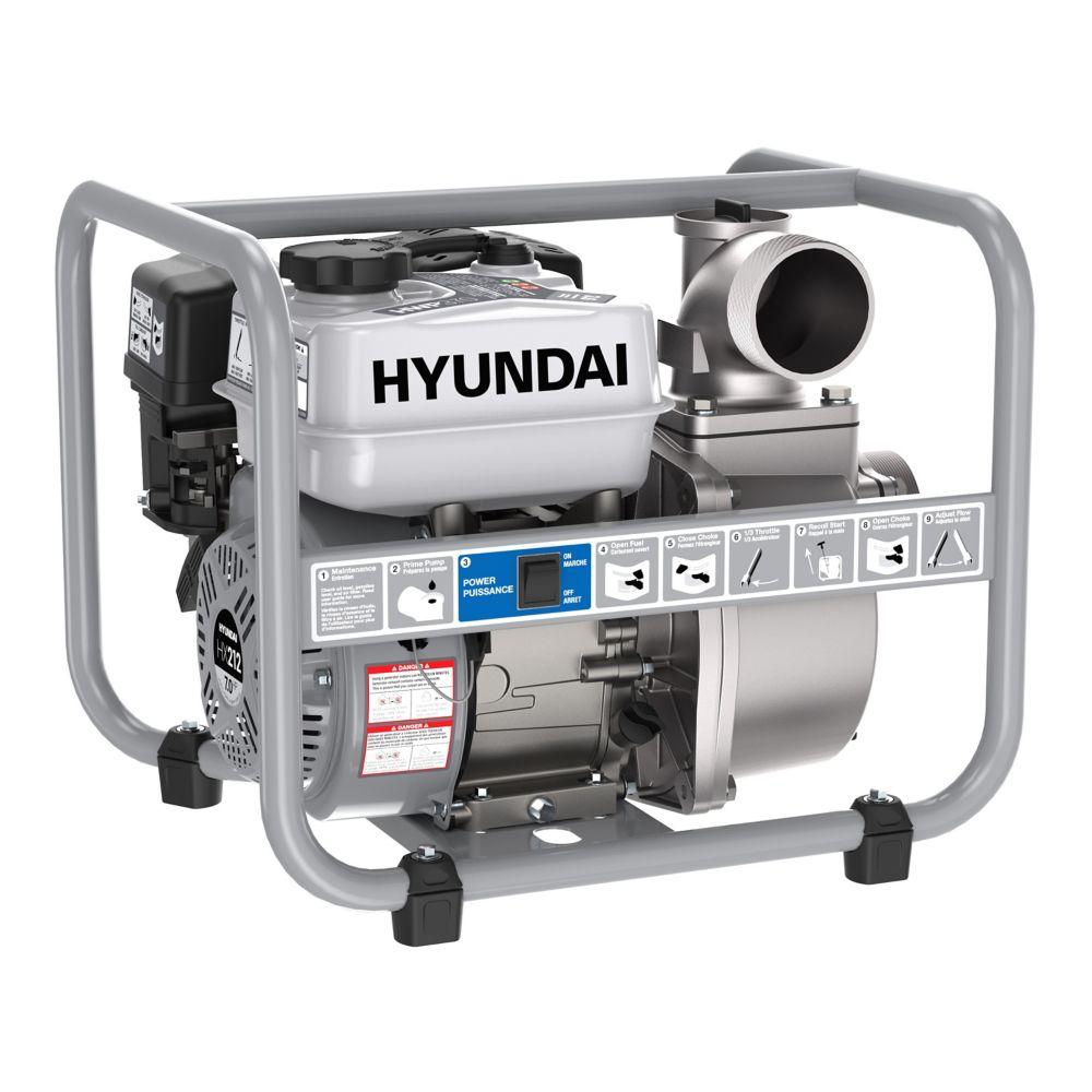 Hyundai Hyundai HWP370 3in Gas Powered 7 HP 212cc Water Pump