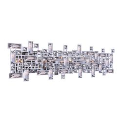 CWI Lighting Arley 30 inch 8 Light Wall Sconce with Chrome Finish