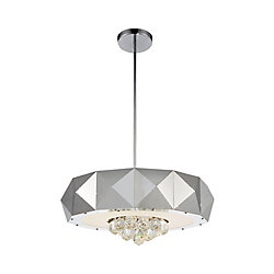 Meuse 21 inch 8 Light Chandelier with Chrome Finish
