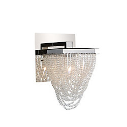 Finke 6 inch 1 Light Wall Sconce with Chrome Finish