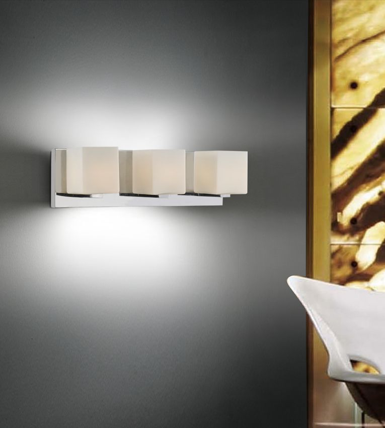 CWI Lighting Cristini 20 inch 3 Light Wall Sconce with Satin Nickel Finish