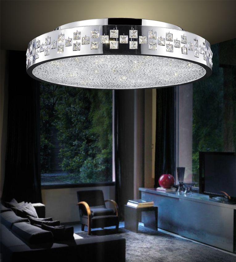 CWI Lighting Cinderella 28 inch 12 Light Flush Mount with Chrome Finish