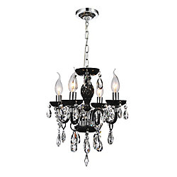 Princeton 14-inch 4 Light Pendant with Chrome Finish