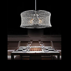 Christie 24 inch 3 Light Chandelier with Chrome Finish