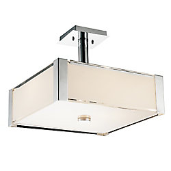 Lucie 21 inch 5 Light Chandelier with Chrome Finish
