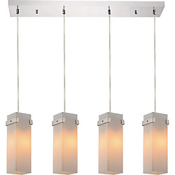 CWI Lighting Hype 4 inch 4 Light Chandelier with Chrome Finish