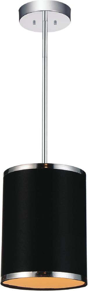 CWI Lighting Orchid 7 inch Single Light Mini Pendants with Chrome Finish