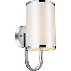 Orchid 6 inch 1 Light Wall Sconces with Chrome Finish