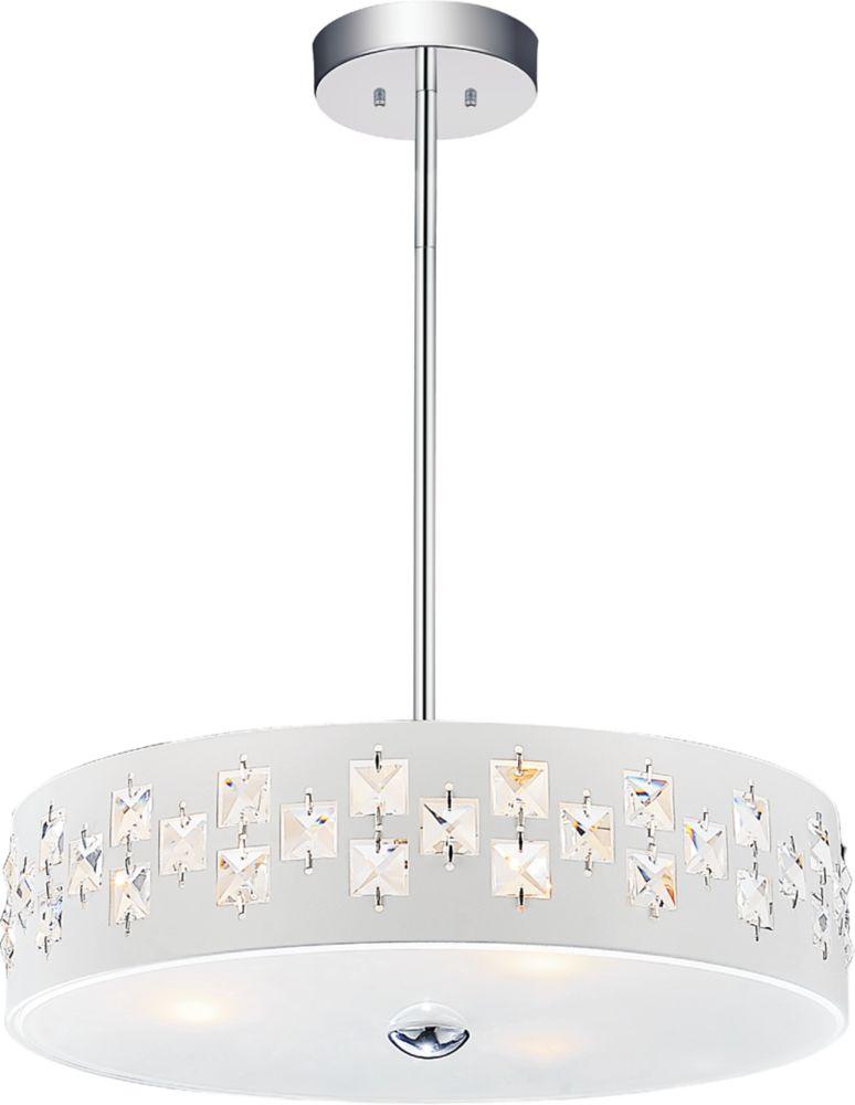 CWI Lighting Stellar 14 inch 3 Light Mini Pendants with White Finish