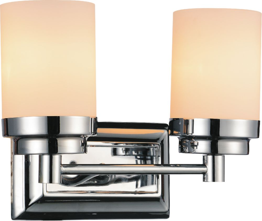 CWI Lighting Margie 12 inch 2 Light Wall Sconces with Chrome Finish