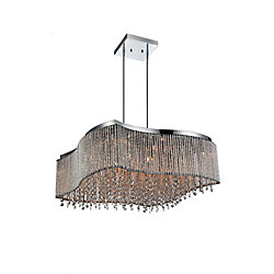 Claire 24 inch 16 Light Chandelier with Chrome Finish