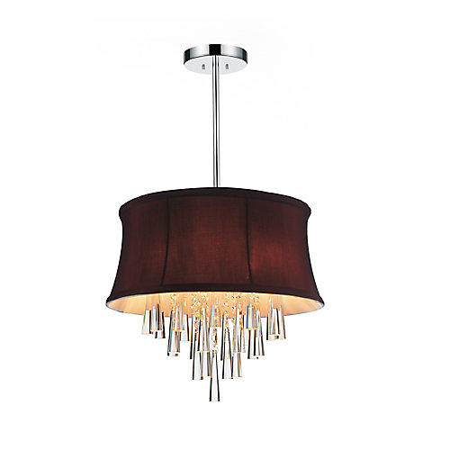 Audrey 16-inch 4 Light Chandelier with Chrome Finish