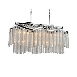 Storm 47 inch 12 Light Chandelier with Chrome Finish