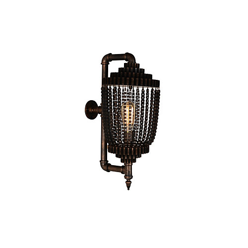 Kala 9 inch 1 Light Wall Sconce with Speckled copper Finish