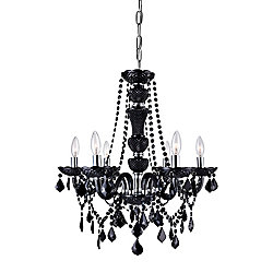 Princeton 22 inch 6 Light Chandelier with Chrome Finish