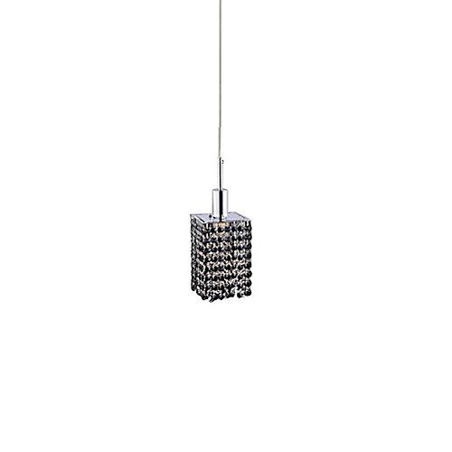 Glitz 4.5-inch 1 Light Mini Pendant with Chrome Finish