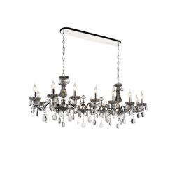 CWI Lighting Flawless 54 inch 14 Light Chandelier with Chrome Finish