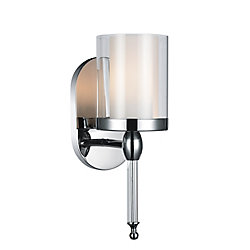 Maybelle 6 inch 1 Light Wall Sconce with Chrome Finish
